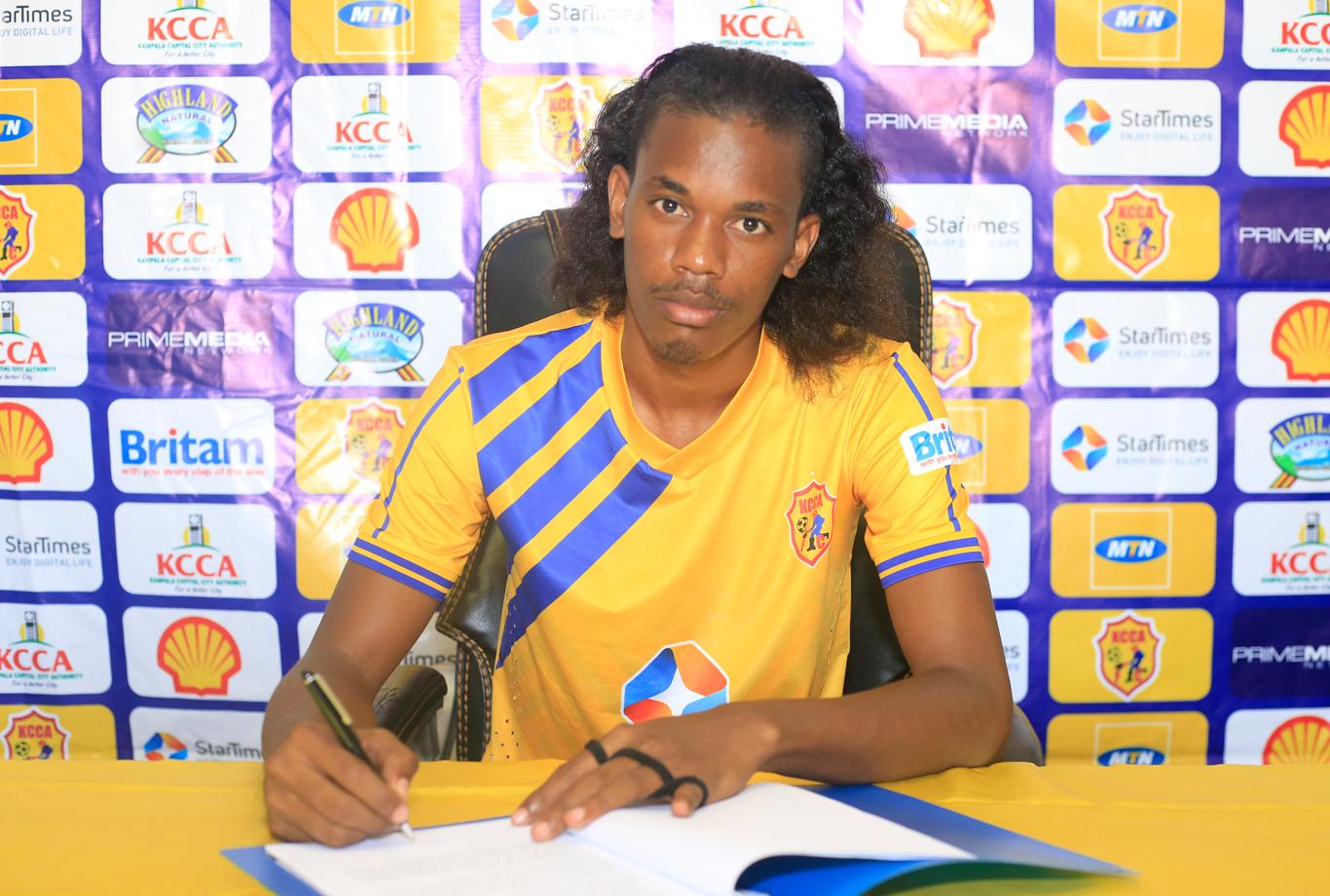New Signing: JOHN REVITA - KCCA FC Hillary Mutebi