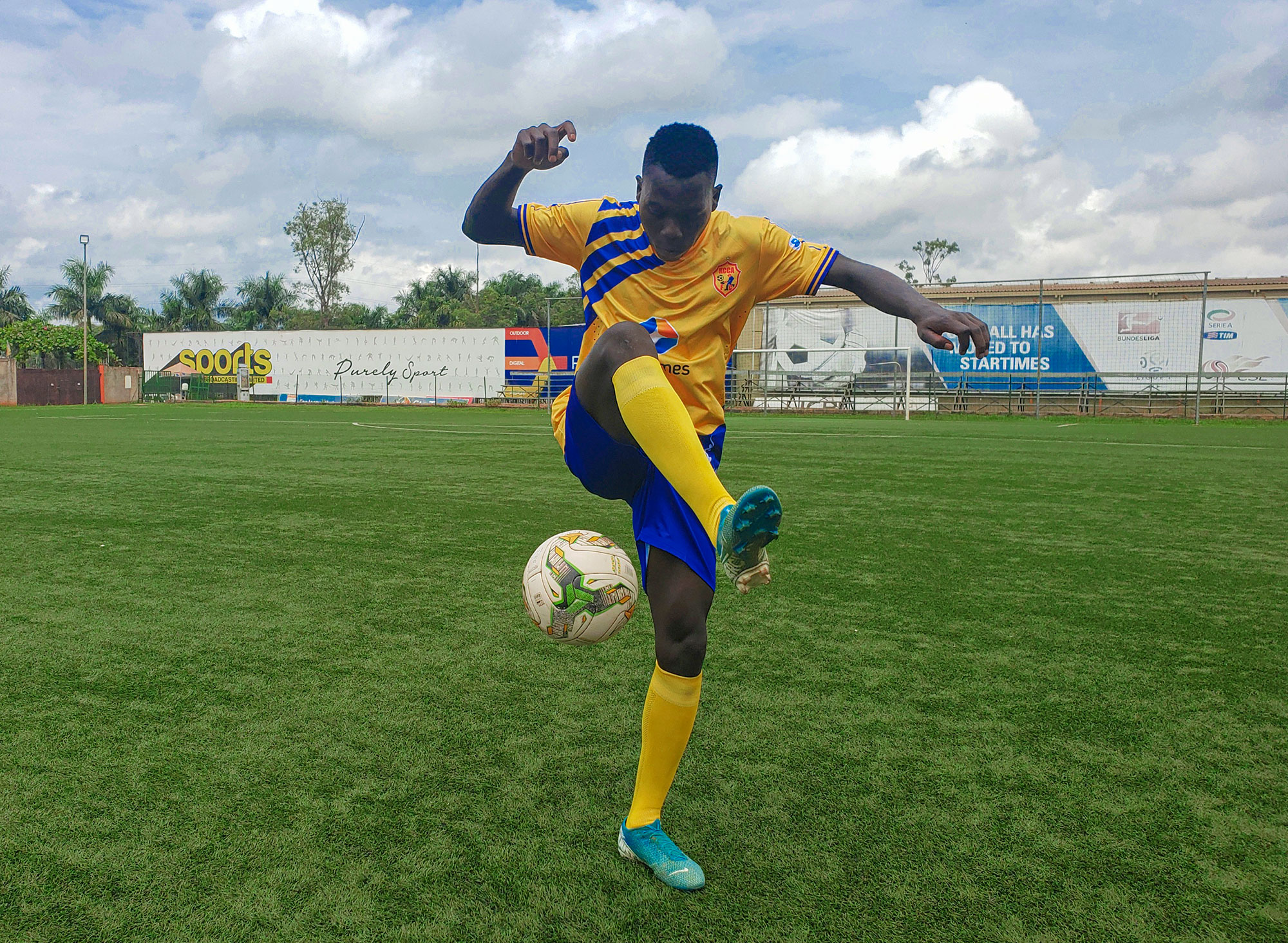 Charles Lwanga: KCCA's teenage forward with rich figures | First Interview