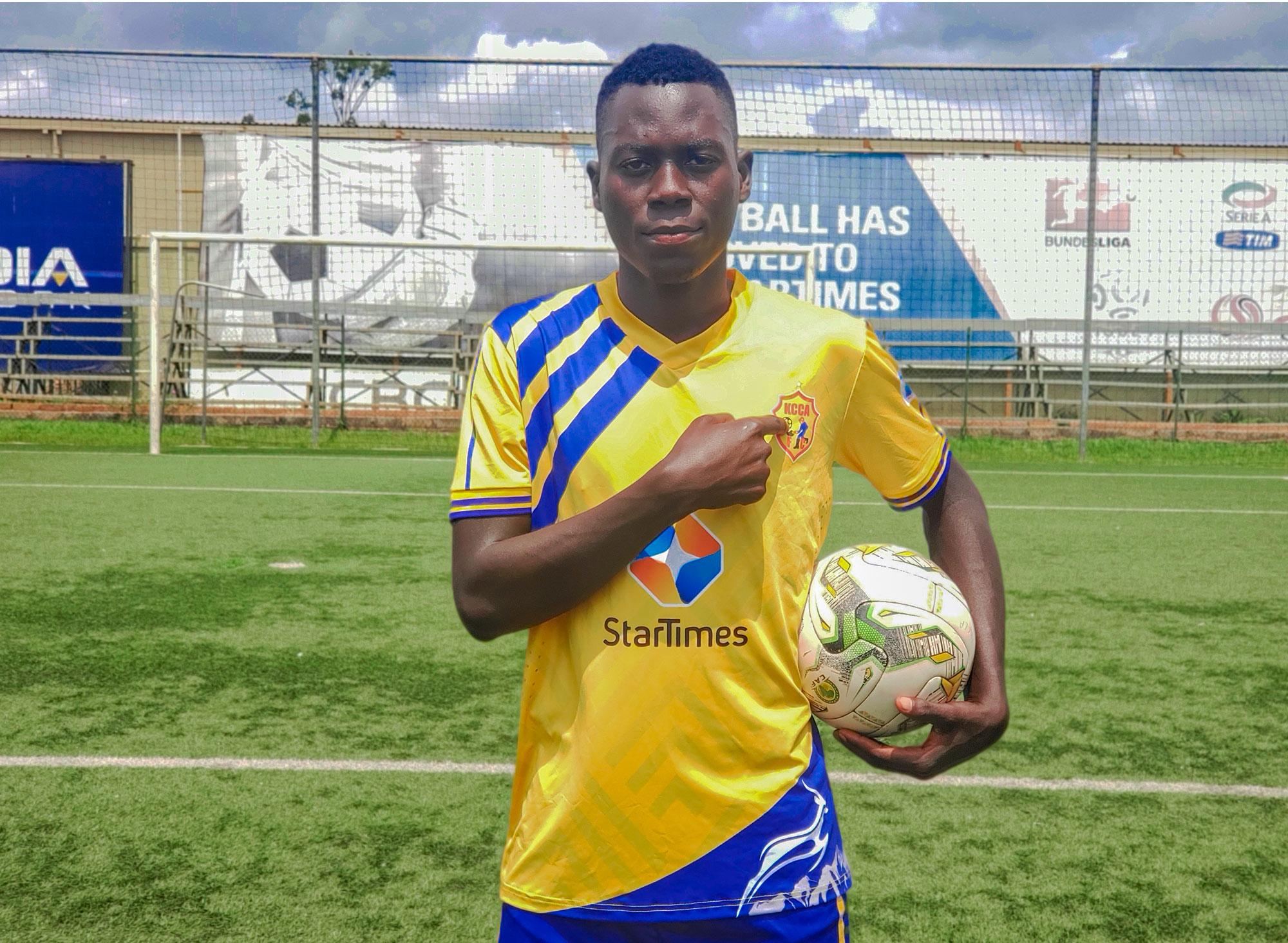 New Signing: Charles Lwanga