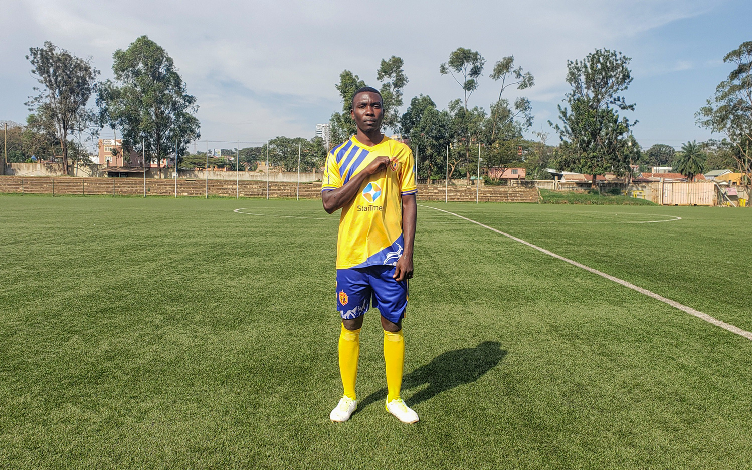NEW SIGNING: KIGOZI SIGNS FOR KCCA FC.