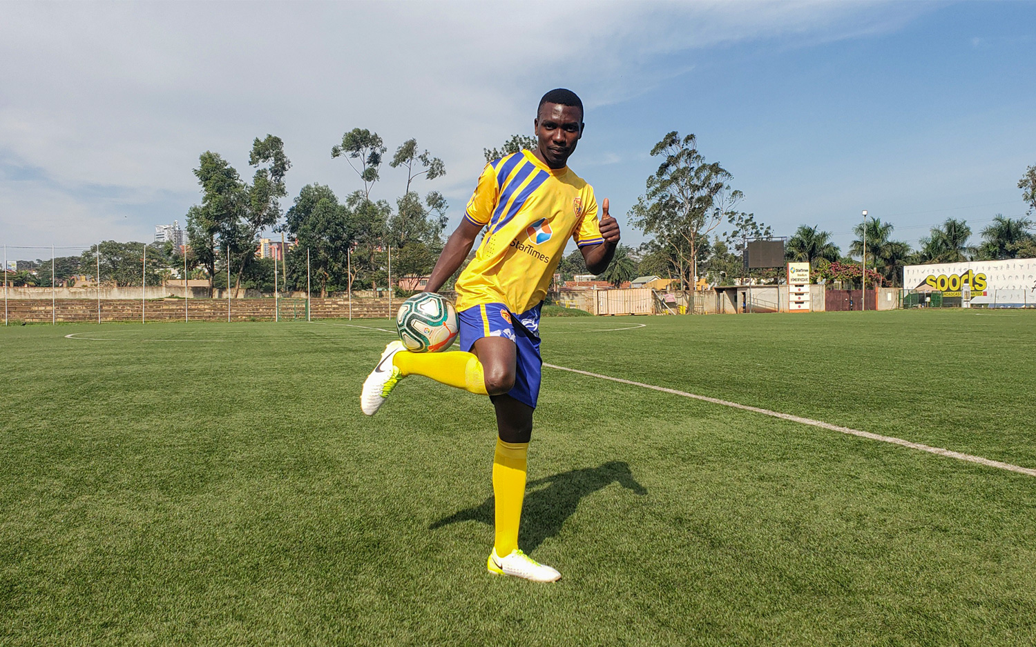 I am ready for competition at KCCA FC – Kigozi Samson